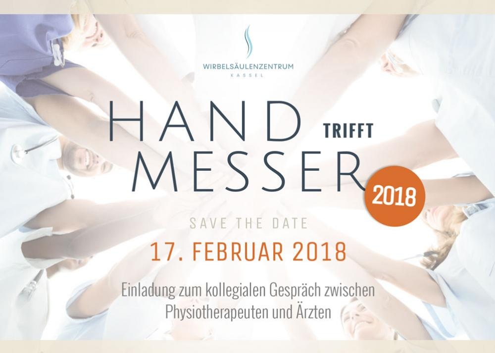 Hand trifft Messer 2018