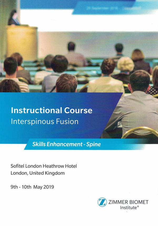 Instructional Course: Interspinous Fusion