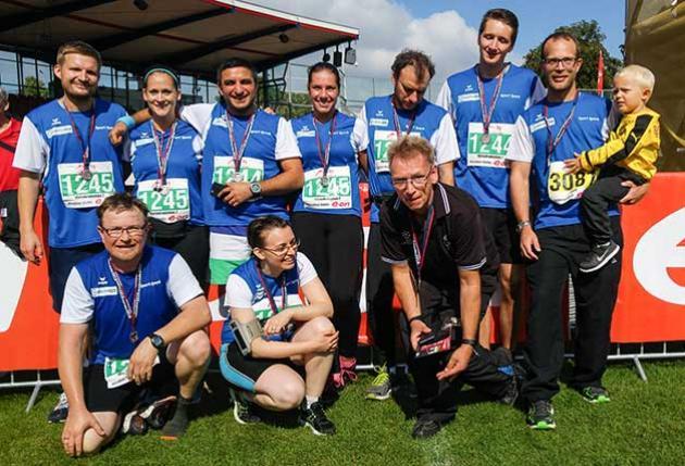 Die Teams des Neurozentrum Kassel und des Marienkrankenhauses beim Kassel-Marathon